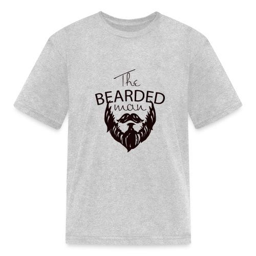 The bearded man - Kids' T-Shirt