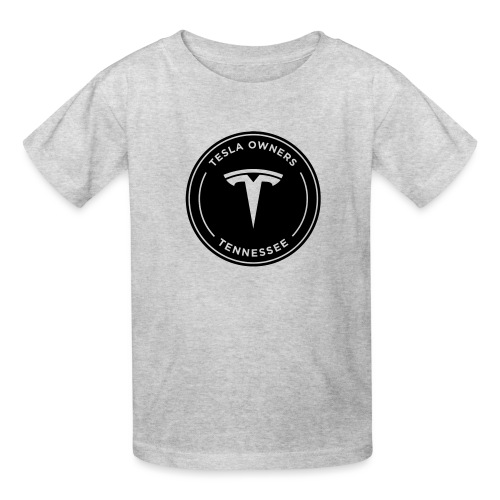 Tesla Owners Logo Black - Kids' T-Shirt