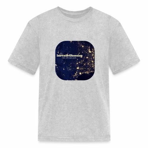 "InovativObsesion ""TURN ON YOU LIGHT"" Apparel - Kids' T-Shirt"