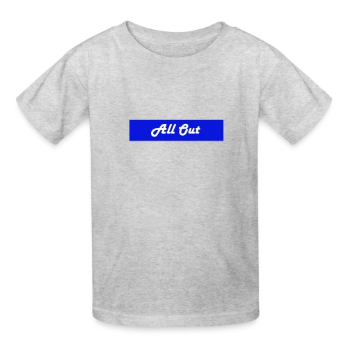All out - Kids' T-Shirt