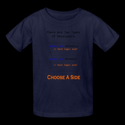Code Styling Preference Shirt - Kids' T-Shirt