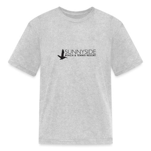 Logo Large Black - Kids' T-Shirt