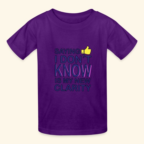 new clarity - Kids' T-Shirt