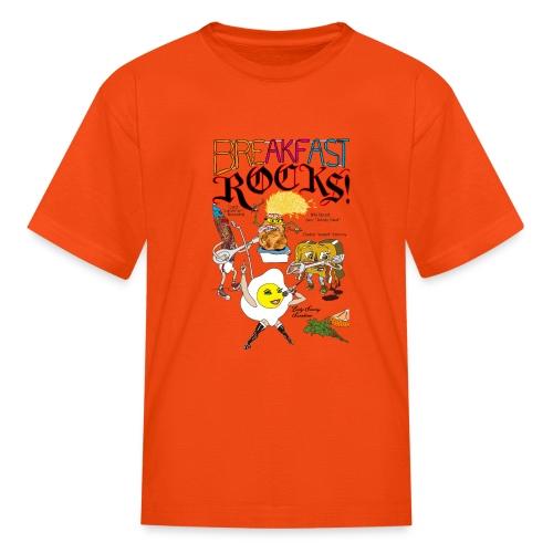 Breakfast Rocks! - Kids' T-Shirt