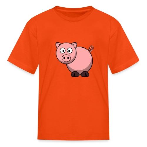 Funny Pig T-Shirt - Kids' T-Shirt