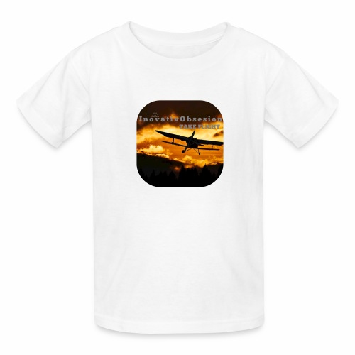 "InovativObsesion ""TAKE FLIGHT"" apparel - Kids' T-Shirt"
