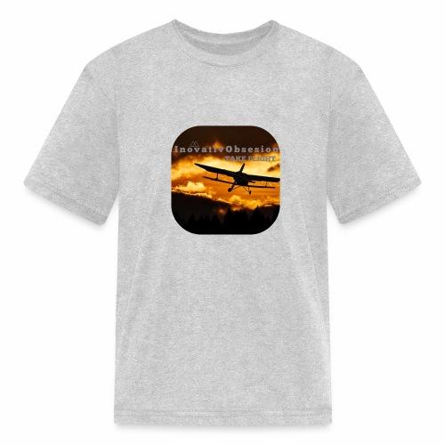 "InovativObsesion ""TAKE FLIGHT"" apparel - Kids' T-Shirt"