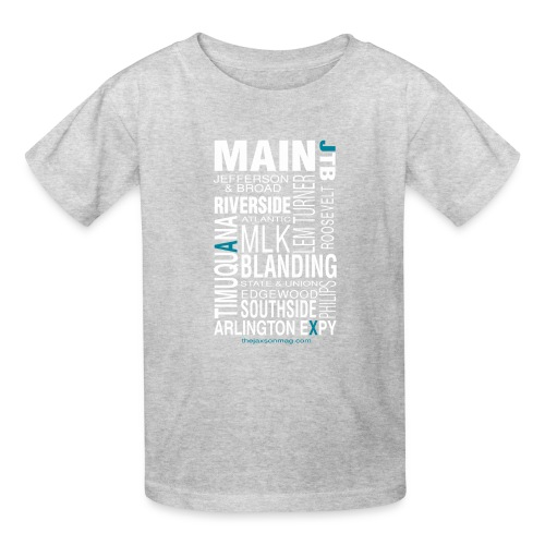 Jacksonville Streets - Kids' T-Shirt