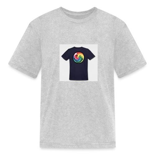winking smile - Kids' T-Shirt