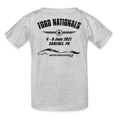Ford Nationals 2021 with Mustang Flag - Kids' T-Shirt