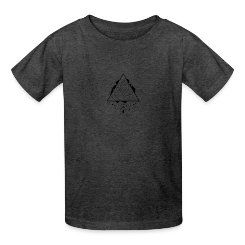 black rose - Kids' T-Shirt
