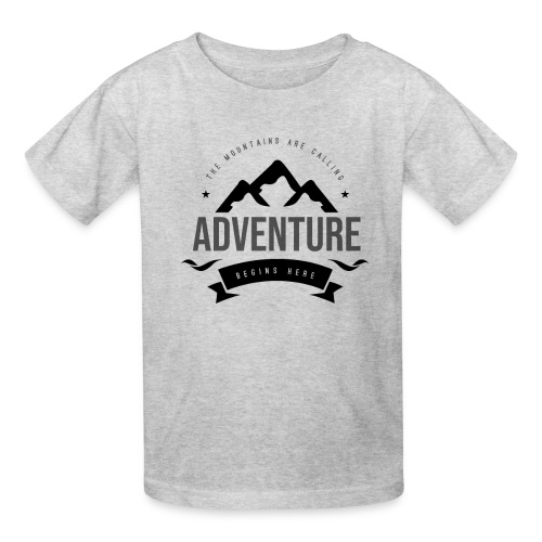 The mountains are calling T-shirt - Kids' T-Shirt
