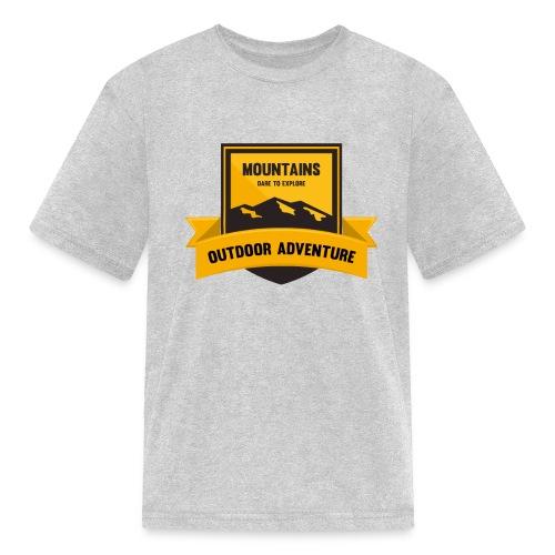 Mountains Dare to explore T-shirt - Kids' T-Shirt
