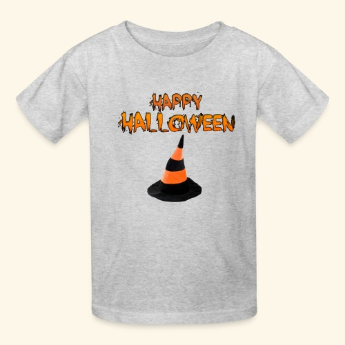 HAPPY HALLOWEEN WITCH HAT TEE - Kids' T-Shirt