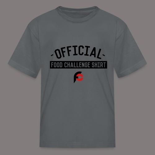 Official Food Challenge Shirt 2 - Kids' T-Shirt