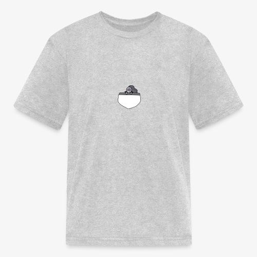 Gray Pocket Buddy - Kids' T-Shirt
