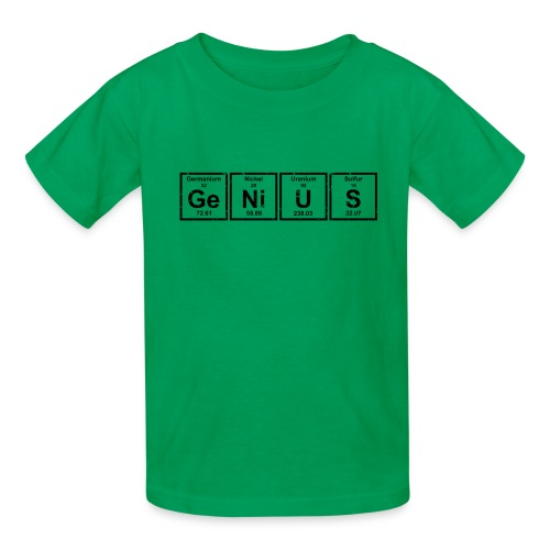 Genius (Periodic Elements) - Kids' T-Shirt