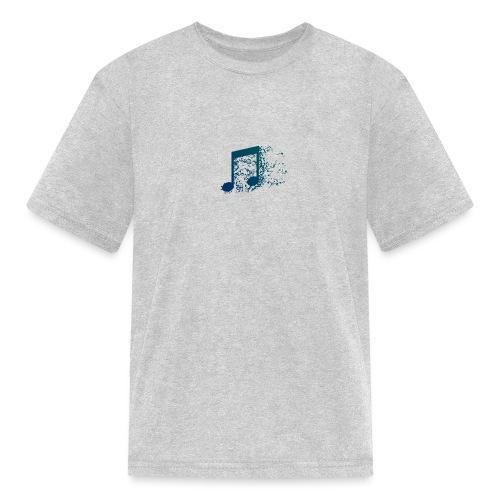 Music note spill - Kids' T-Shirt