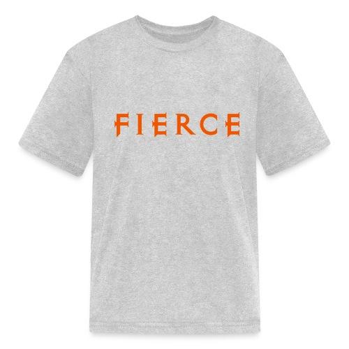FIERCE design (orange) | Maternity & Kids - Kids' T-Shirt