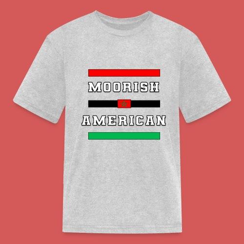 Moorish American Bars - Kids' T-Shirt