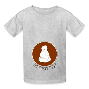 The Rusty Toque Brown Logo 2 - Kids' T-Shirt