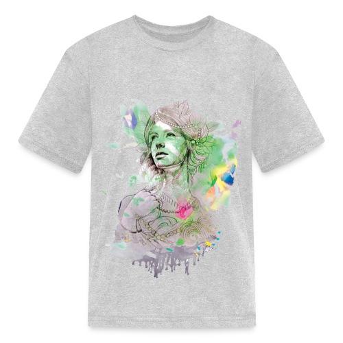 women in multicolor - Kids' T-Shirt