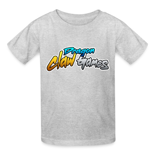 Dragon Claw Games - Text Logo - Kids' T-Shirt