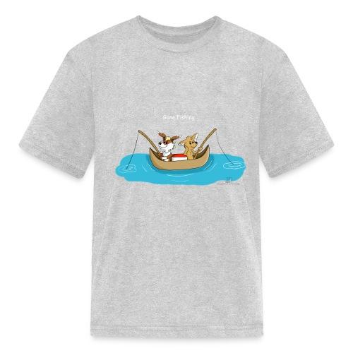 Gone Fishing - Kids' T-Shirt