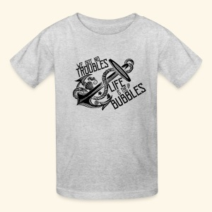 Life is the bubbles - Kids' T-Shirt