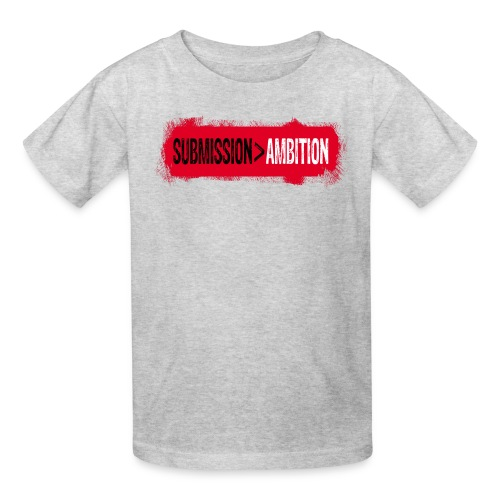 Submission over Ambition - Kids' T-Shirt