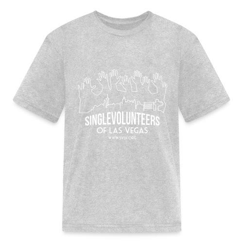 White logo SVLV - Kids' T-Shirt