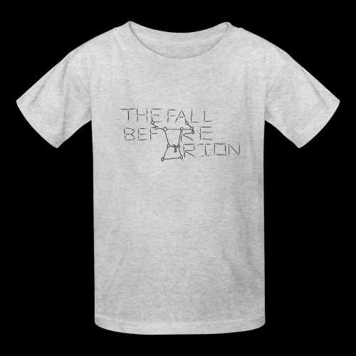 The Fall Before Orion Logo (Black) - Kids' T-Shirt