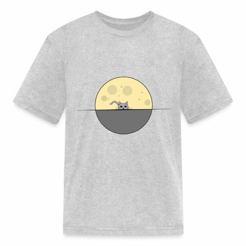 moon cat - Kids' T-Shirt