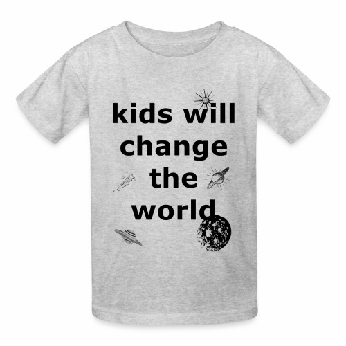 Change the World - Kids' T-Shirt