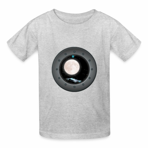 Space Window - Kids' T-Shirt