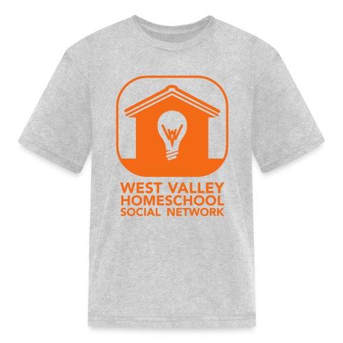 West Valley Homeschool Social Network Logo + Name - Kids' T-Shirt