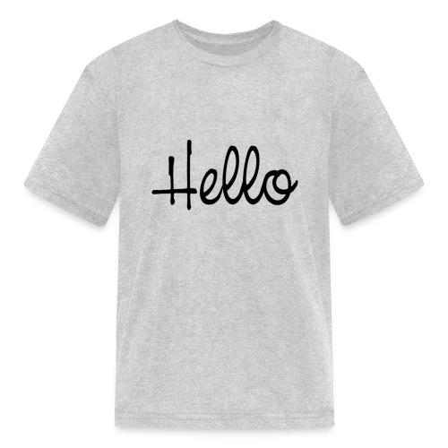 hello - Kids' T-Shirt