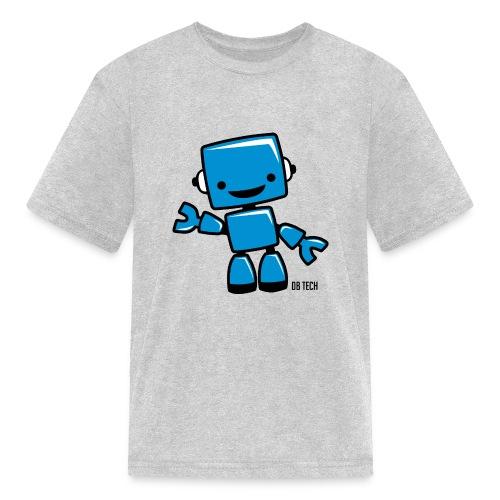 DB Tech Robot With Text - Kids' T-Shirt