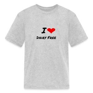 I LOVE DAIRY FREE - Kids' T-Shirt