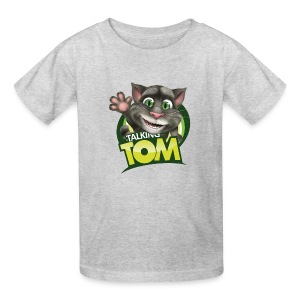 Talking_TOM_wave_preview_lowRes - Kids' T-Shirt