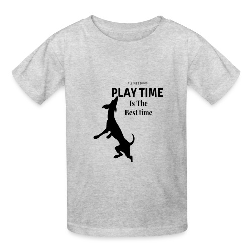 Playtime is the best time T-shirt design - Kids' T-Shirt