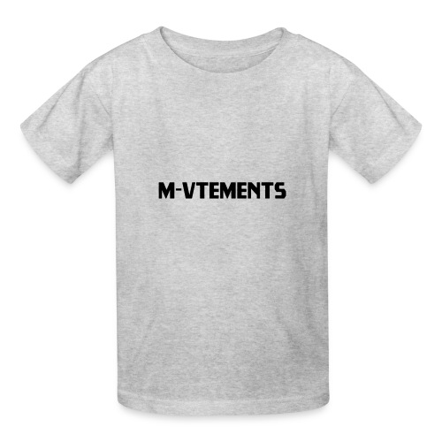 M-VTEMENTS T-SHIRT LOGO - Kids' T-Shirt