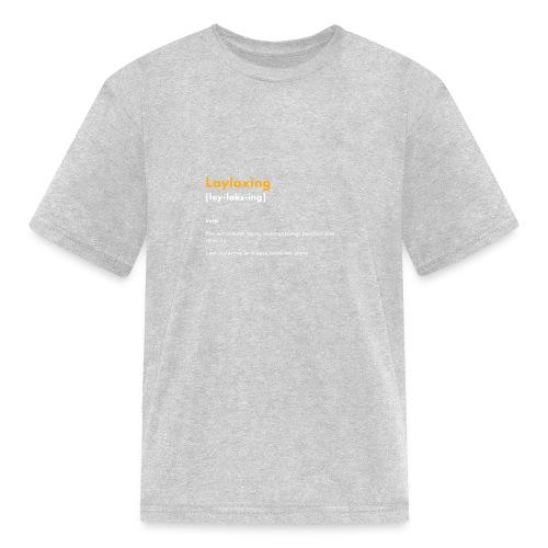 laylaxing gold - Kids' T-Shirt