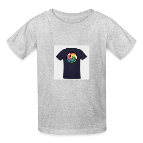 winking smile - Kids' T-Shirt