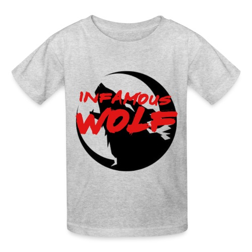 Infamous Wolf shirt(kid) - Kids' T-Shirt