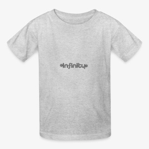 Infinity text based - Kids' T-Shirt