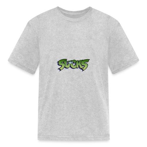 Art Sucks - Damned - Kids' T-Shirt