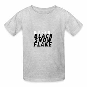 #queerblacksnowflake - Kids' T-Shirt