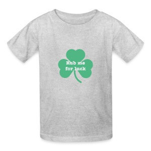 Rub me for luck - Kids' T-Shirt