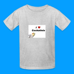 Cockatiels - Kids' T-Shirt